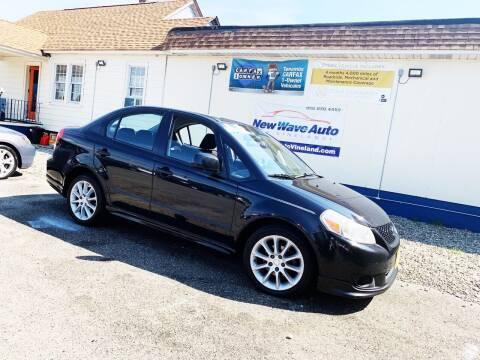 2008 Suzuki SX4 for sale at New Wave Auto of Vineland in Vineland NJ