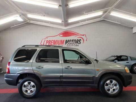 2004 Mazda Tribute for sale at Premium Motors in Villa Park IL