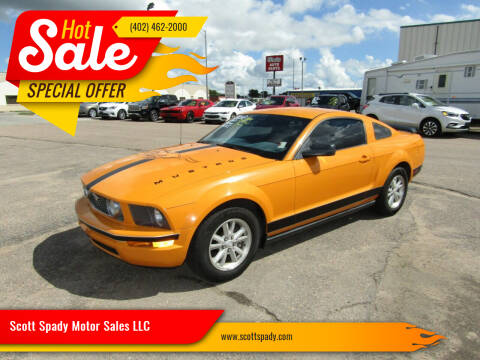 2008 Ford Mustang for sale at Scott Spady Motor Sales LLC in Hastings NE