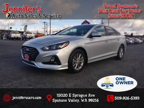 2018 Hyundai Sonata for sale at Jennifer's Auto Sales in Spokane Valley WA