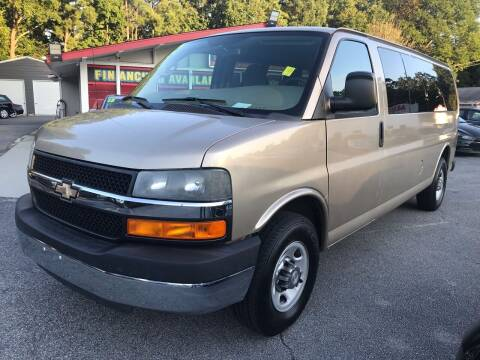 2012 Chevrolet Express Passenger for sale at Mira Auto Sales in Raleigh NC