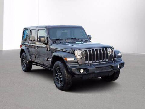 2018 Jeep Wrangler Unlimited for sale at Jimmys Car Deals in Livonia MI