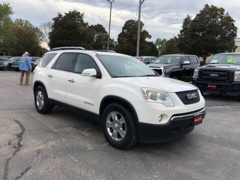 2008 GMC Acadia for sale at WILLIAMS AUTO SALES in Green Bay WI