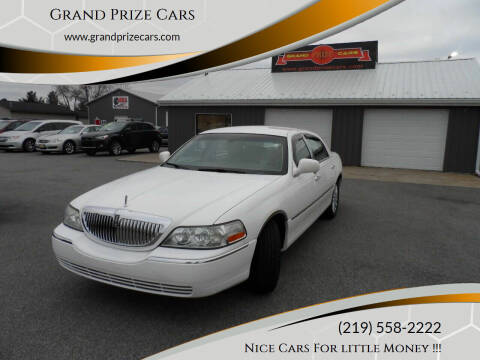 2005 Lincoln Town Car for sale at Grand Prize Cars in Cedar Lake IN
