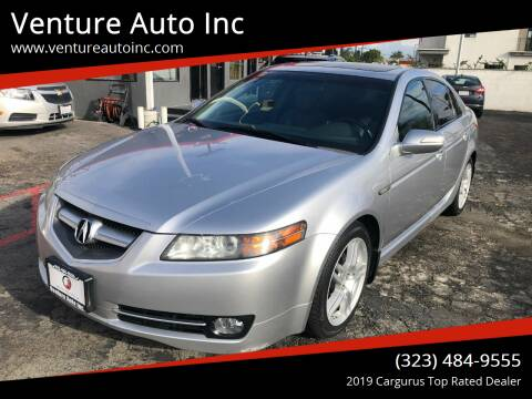 2007 Acura TL for sale at Venture Auto Inc in South Gate CA