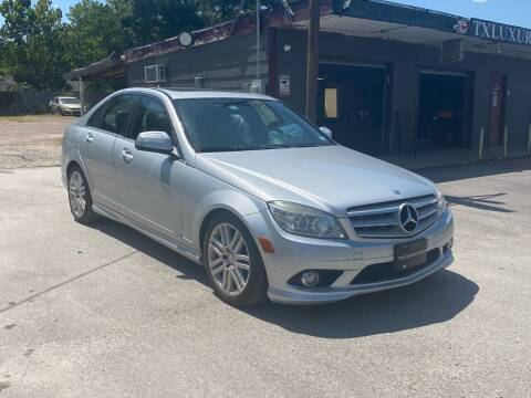 2009 Mercedes-Benz C-Class for sale at Texas Luxury Auto in Houston TX