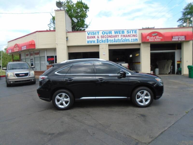 2010 Lexus RX 350 for sale at Bickel Bros Auto Sales, Inc in Louisville KY