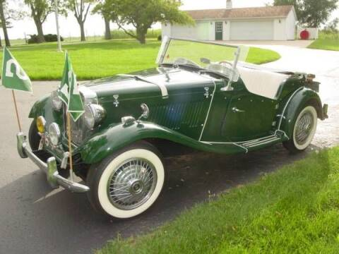 1954 MG TD for sale at Classic Car Deals in Cadillac MI