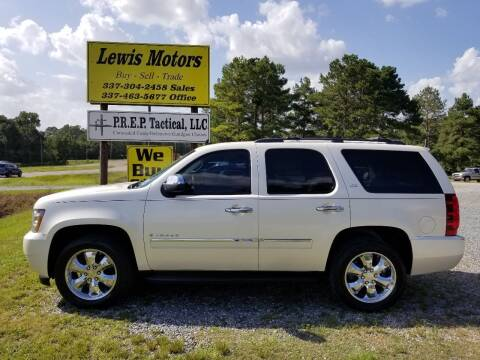 2009 Chevrolet Tahoe for sale at Lewis Motors LLC in Deridder LA
