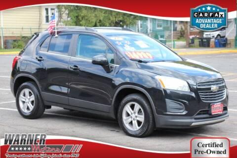 2015 Chevrolet Trax for sale at Warner Motors in East Orange NJ