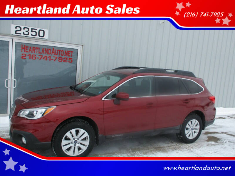 2015 Subaru Outback for sale at Heartland Auto Sales in Medina OH