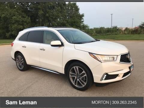 2018 Acura MDX for sale at Sam Leman CDJRF Morton in Morton IL