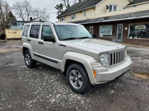 2008 Jeep Liberty for sale at Motor House in Alden NY