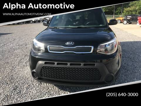 2016 Kia Soul for sale at Alpha Automotive in Odenville AL