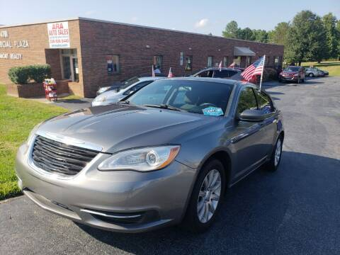 2012 Chrysler 200 for sale at ARA Auto Sales in Winston-Salem NC