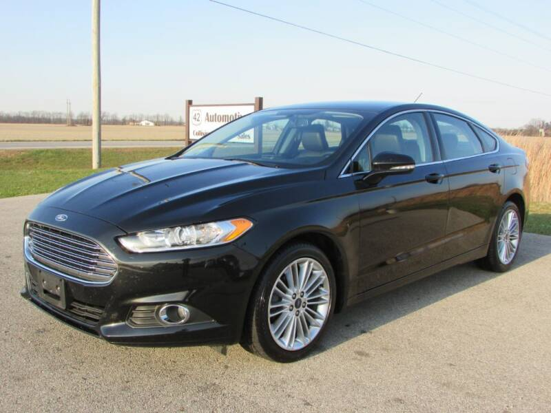 2016 Ford Fusion for sale at 42 Automotive in Delaware OH