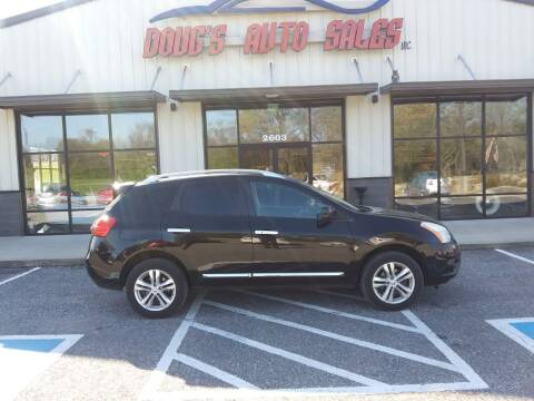 2012 Nissan Rogue for sale at DOUG'S AUTO SALES INC in Pleasant View TN