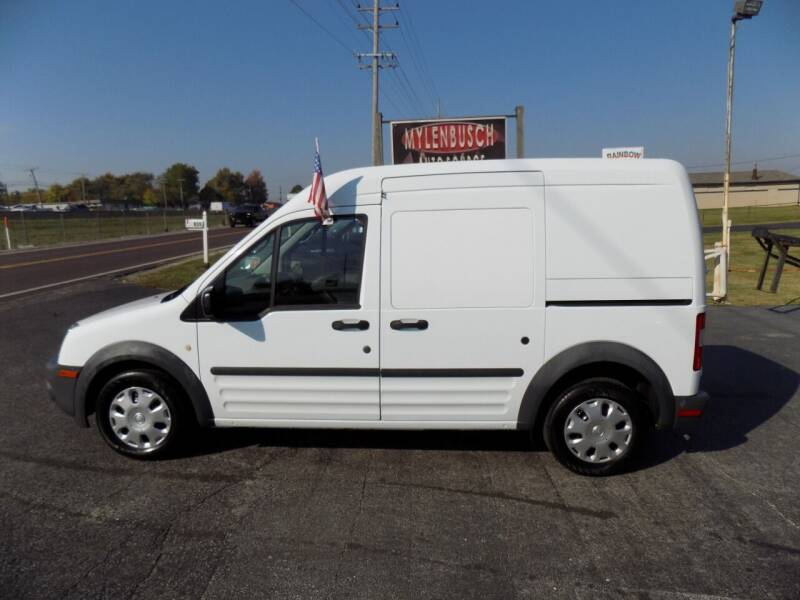 2013 Ford Transit Connect for sale at MYLENBUSCH AUTO SOURCE in O` Fallon MO
