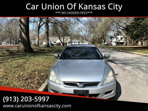 2007 Honda Accord for sale at Car Union Of Kansas City in Kansas City MO