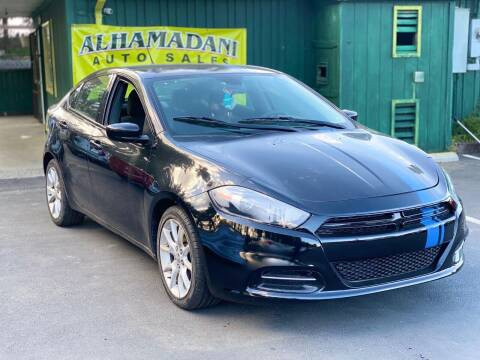 2015 Dodge Dart for sale at ALHAMADANI AUTO SALES in Spanaway WA