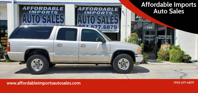 2004 GMC Yukon XL for sale at Affordable Imports Auto Sales in Murrieta CA