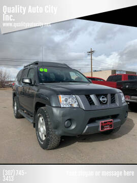 2008 Nissan Xterra for sale at Quality Auto City Inc. in Laramie WY