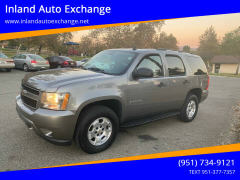 2009 Chevrolet Tahoe for sale at Inland Auto Exchange in Norco CA