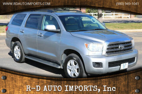 2009 Toyota Sequoia for sale at R-D AUTO IMPORTS, Inc in Charlotte NC