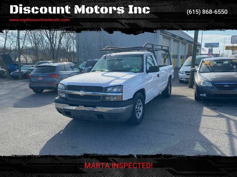 2005 Chevrolet Silverado 1500 for sale at Discount Motors Inc in Madison TN
