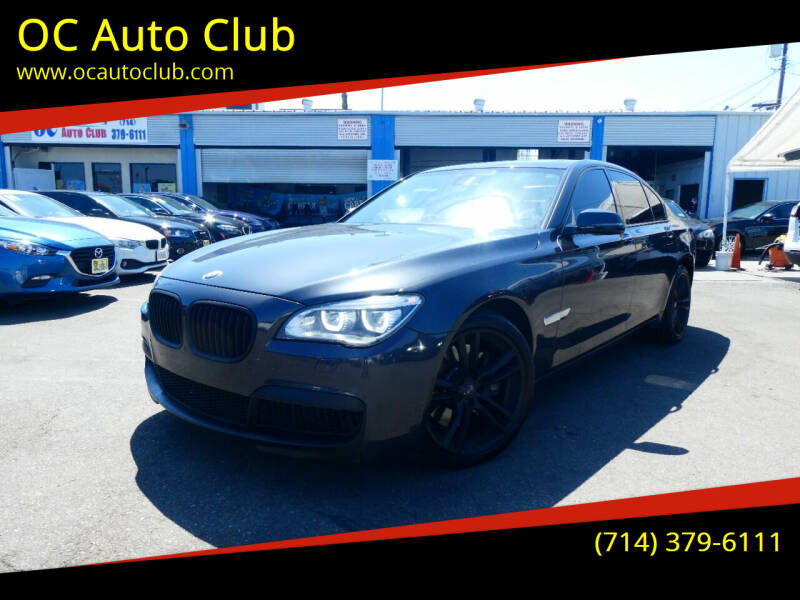 2013 BMW 7 Series for sale at OC Auto Club in Midway City CA