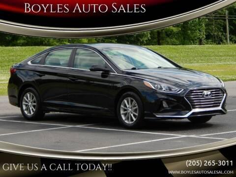 2018 Hyundai Sonata for sale at Boyles Auto Sales in Jasper AL