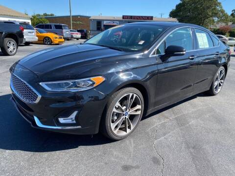 2019 Ford Fusion for sale at Modern Automotive in Boiling Springs SC