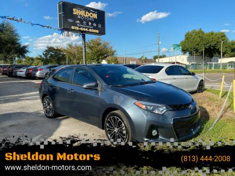 2015 Toyota Corolla for sale at Sheldon Motors in Tampa FL