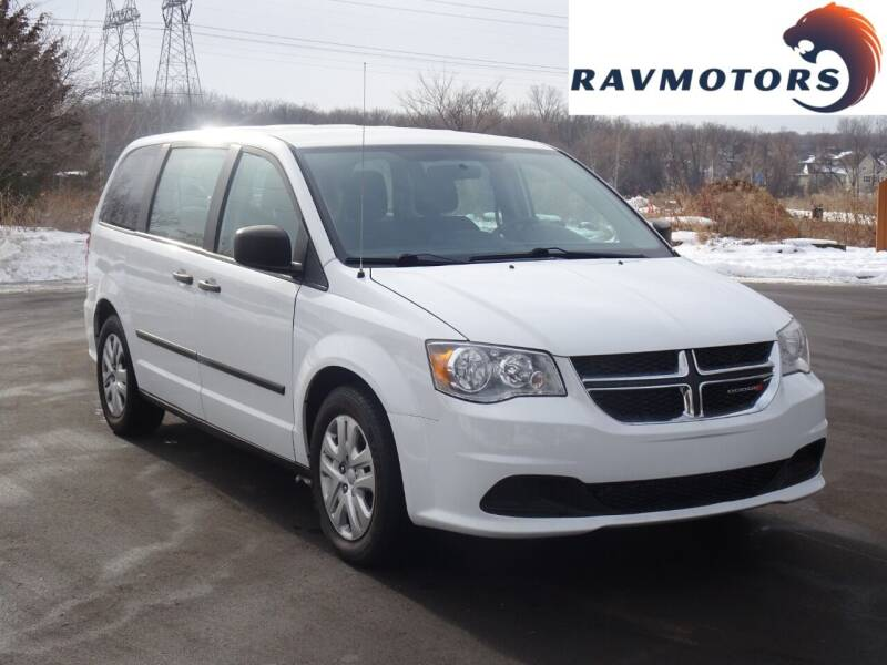 2015 Dodge Grand Caravan for sale at RAVMOTORS in Burnsville MN