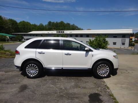 2012 Lincoln MKX for sale at HAPPY TRAILS AUTO SALES LLC in Taylors SC