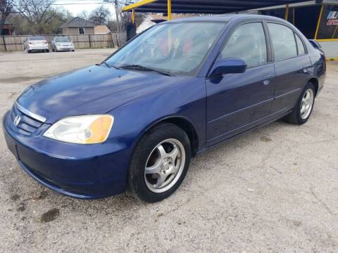 2002 Honda Civic for sale at Nile Auto in Fort Worth TX