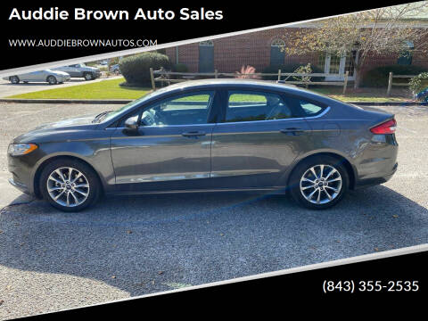 2017 Ford Fusion for sale at Auddie Brown Auto Sales in Kingstree SC