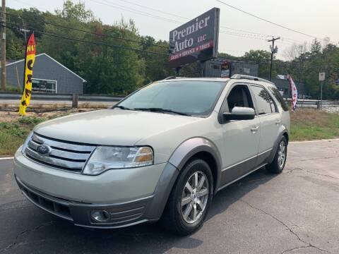 2008 Ford Taurus X for sale at Premier Auto LLC in Hooksett NH