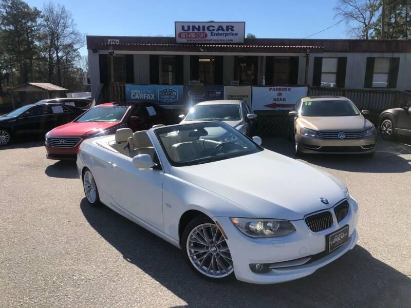 2011 BMW 3 Series for sale at Unicar Enterprise in Lexington SC