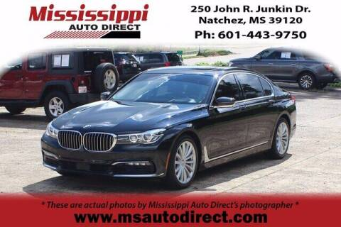 2017 BMW 7 Series for sale at Auto Group South - Mississippi Auto Direct in Natchez MS