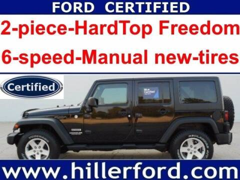 2013 Jeep Wrangler Unlimited for sale at HILLER FORD INC in Franklin WI