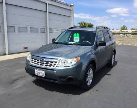 2012 Subaru Forester for sale at My Three Sons Auto Sales in Sacramento CA