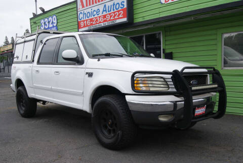 2002 Ford F-150 for sale at Amazing Choice Autos in Sacramento CA