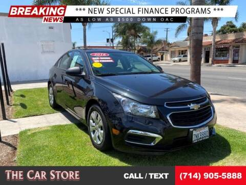 2016 Chevrolet Cruze Limited for sale at The Car Store in Santa Ana CA