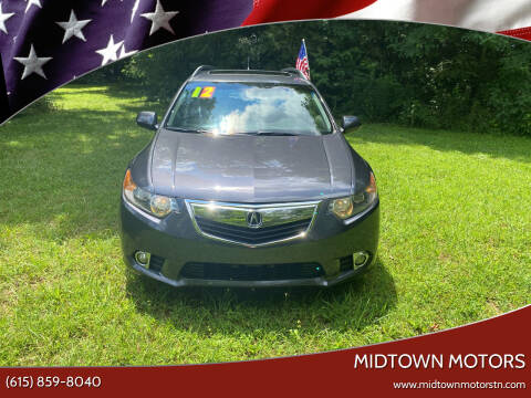 2012 Acura TSX Sport Wagon for sale at Midtown Motors in Greenbrier TN