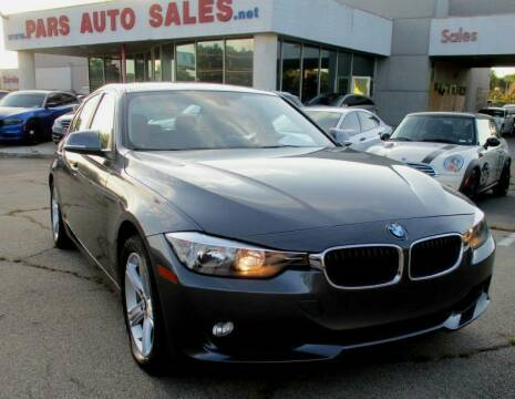 2015 BMW 3 Series for sale at Pars Auto Sales Inc in Stone Mountain GA