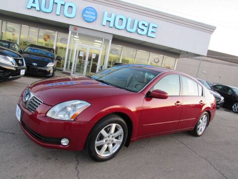 2005 Nissan Maxima for sale at Auto House Motors in Downers Grove IL