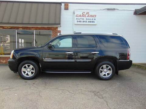 2007 GMC Yukon for sale at CR Garland Auto Sales in Fredericksburg VA