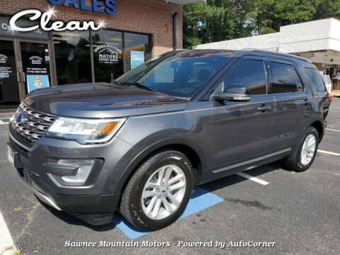 2017 Ford Explorer for sale at Michael D Stout in Cumming GA