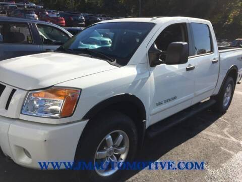 2012 Nissan Titan for sale at J & M Automotive in Naugatuck CT
